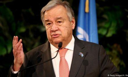 """COVID-19 EN AFRIQUE  – """"Il y aura nécessairement des millions de morts si…"""" (Antonio Guterres)"""
