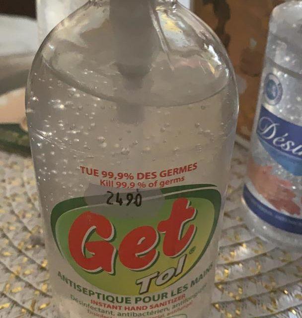 Gels Hydro alcooliques: Le ministre du Commerce fixe les prix plafond et prévient les récalcitrants
