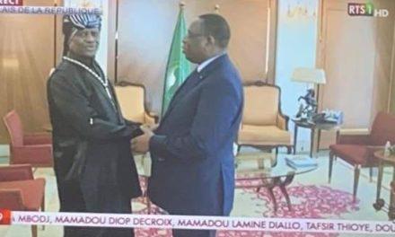 Vidéo – Serigne Modo Kara à sa sortie d'audience avec le président, regardez….