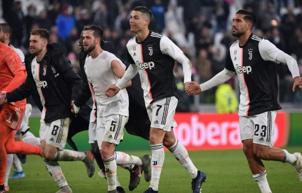 COVID-19 – Les joueurs de la Juve renoncent à 4 mois de salaire
