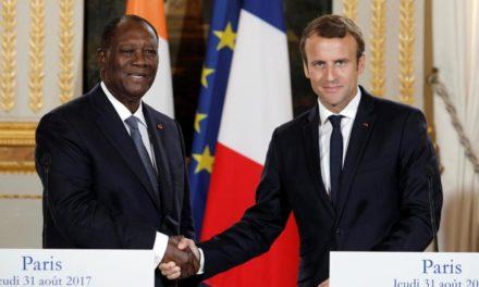 COTE D'IVOIRE – Macron salue «la décision historique» de Ouattara de ne pas se représenter