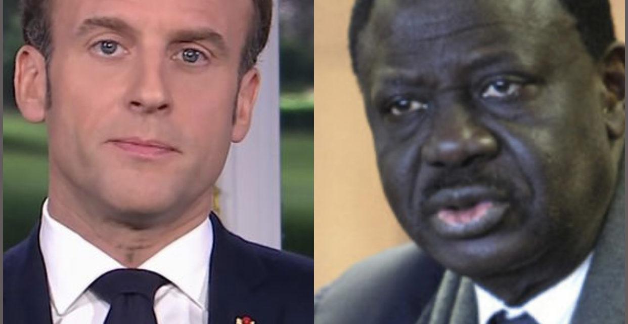 CONDOLEANCES – Macron pleure Pape Diouf