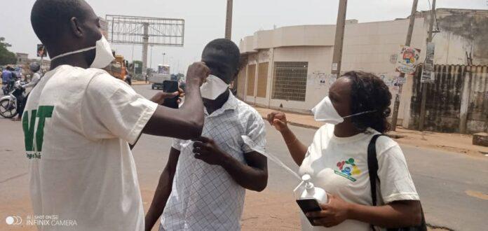NON-RESPECT DU PORT DE MASQUE – 226 personnes contrôlées et verbalisées à Dakar
