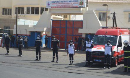 Le Port de Dakar étrenne sa caserne de sapeurs-pompiers