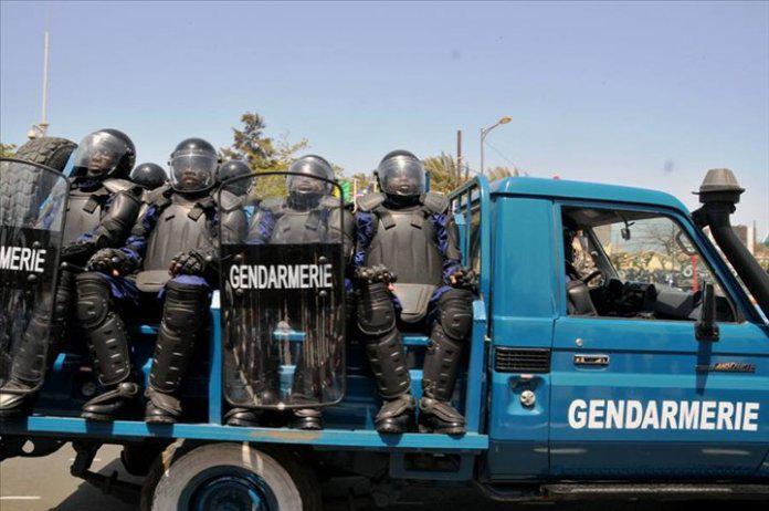 TOUBA – Le commandant de la Brigade de gendarmerie aux arrêts de rigueur