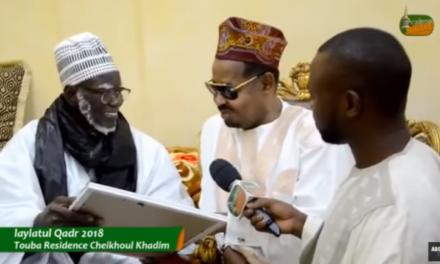 SOUTIEN ET ENCOURAGEMENTS – Serigne Mountakha passe un coup de fil à Ahmed Khalifa Niass