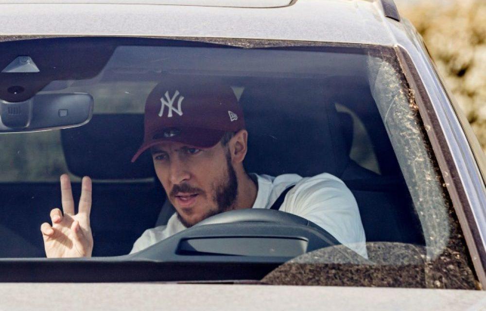 """REAL MADRID – Eden Hazard """"heureux"""" de se réentraîner avec ses équipiers"""