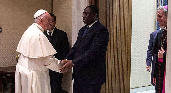 FORUM DE L'EAU A DAKAR – La présence du Pape annoncée