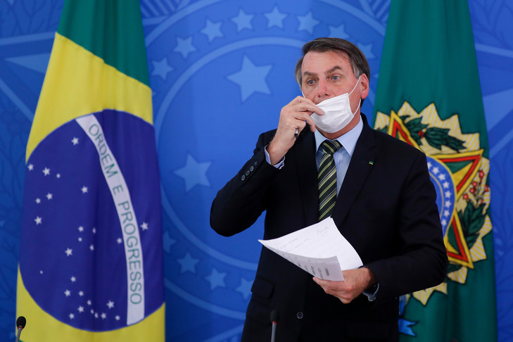 BRESIL – Le président Bolsonaro testé positif au Covid-19