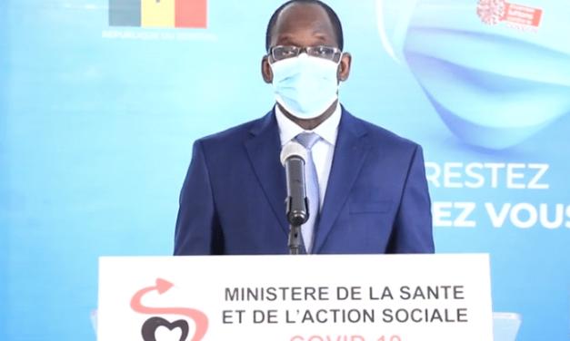 CORONAVIRUS – Diouf Sarr constate une tendance baissière des cas confirmés