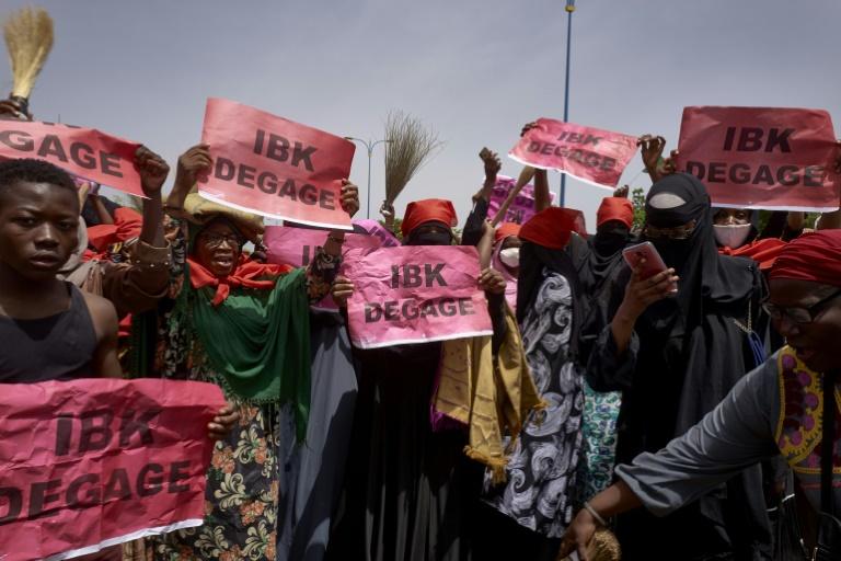 MALI – Nouvelle démonstration de force des opposants au président Keïta
