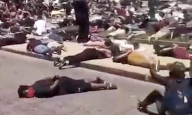"Vidéo – manifestation aux USA : ""I can't breathe"" regardez…"
