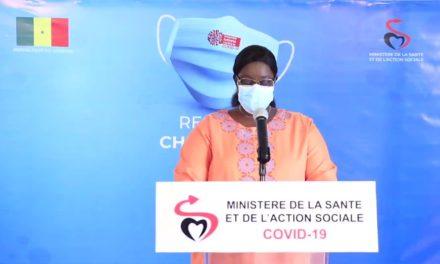 CORONAVIRUS AU SÉNÉGAL – 94 nouveaux cas dont 4 importés et 3 communautaires