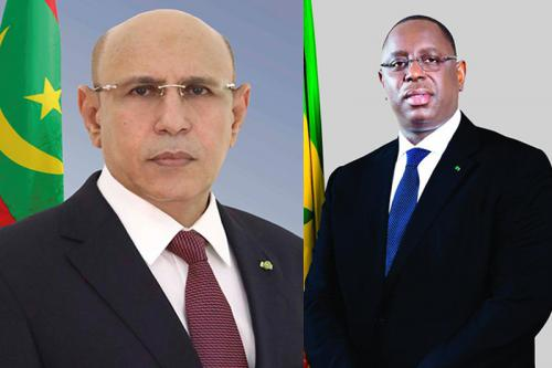 COVID-19 – Entretien téléphonique entre Macky et son homologue mauritanien