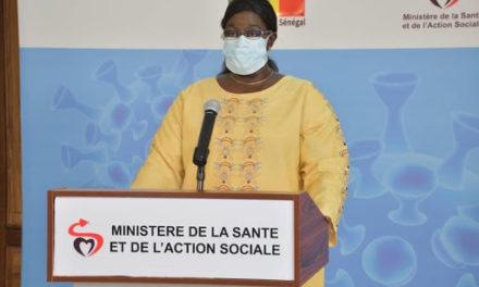 CORONAVIRUS AU SENEGAL – 124 nouveaux cas dont 15 communautaires