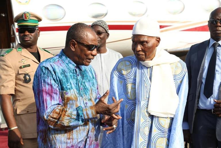 GUINEE – Folle rumeur sur une arrivée de Wade à Conakry