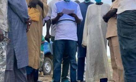 NDINGELER – Aly Ngouille Ndiaye arrache un compromis