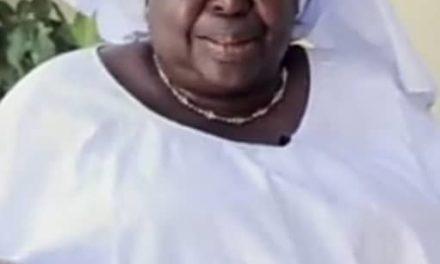 LA PRESSE ENCORE EN DEUIL  – Reine Marie Faye n'est plus