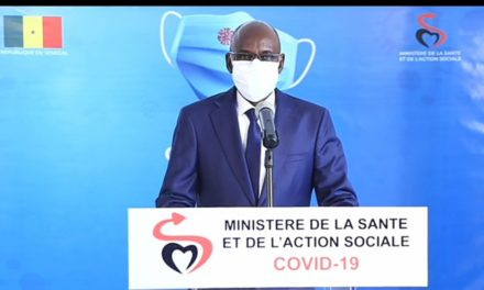 CORONAVIRUS AU SÉNÉGAL – 2 nouveaux décès, 63 nouveaux cas dont 13 communautaires