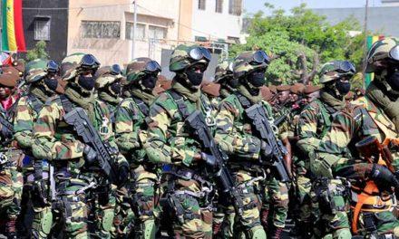 CORONAVIRUS – 208 militaires sénégalais affectés