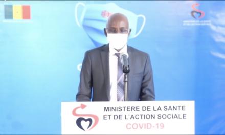 CORONAVIRUS AU SENEGAL – 160 nouveaux cas dont 91 communautaires
