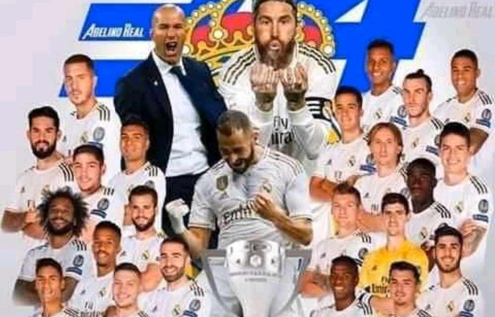 LIGA – Et de 34 pour le Real Madrid