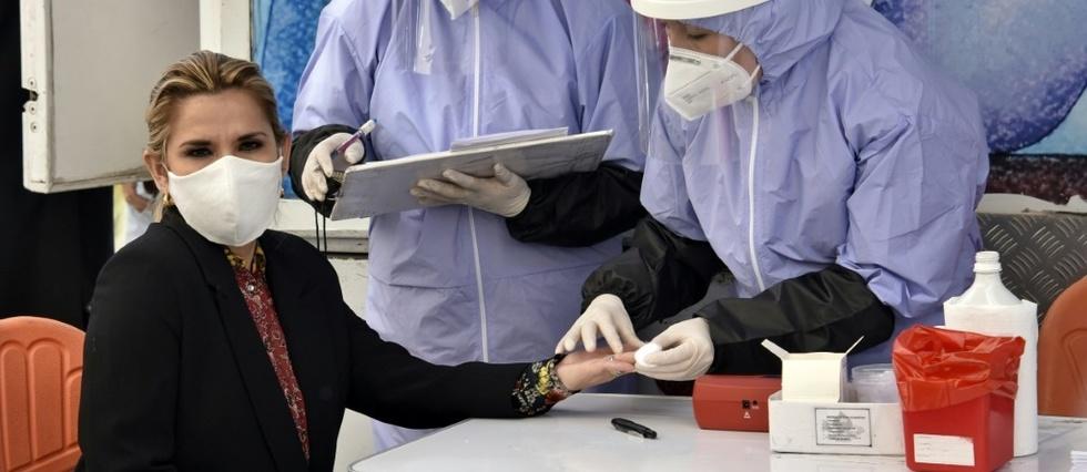 BOLIVIE – La présidente annonce qu'elle a été testée positive au coronavirus