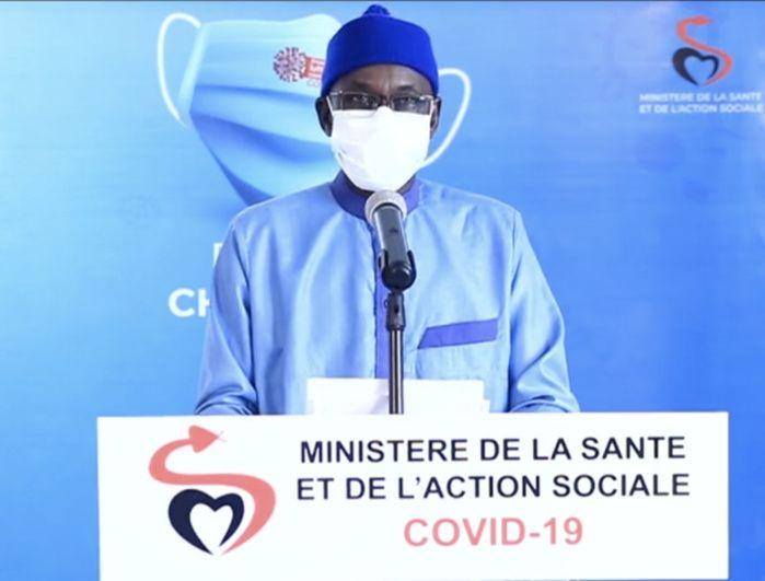 CORONAVIRUS AU SÉNÉGAL – 3 nouveaux décès, 138 nouveaux cas dont 41 communautaires