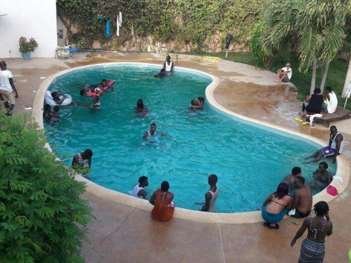 NOYADE D'UNE FILLETTE A OLYMPIQUE CLUB – Lemaître-nageurBirahim Fall condamné à 3 mois avec sursis et 10 millions à payer