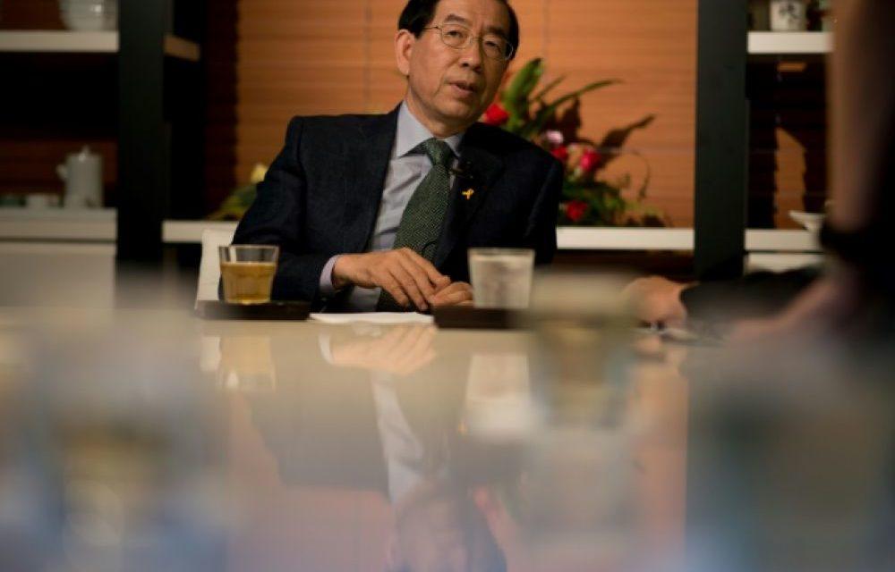 Le maire de Séoul retrouvé mort dans la montagne, l'hypothèse d'un suicide avancée