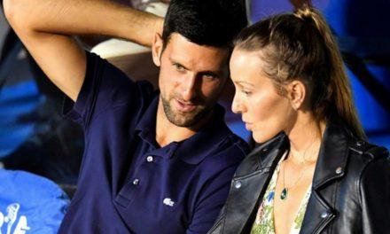 TENNIS – Djokovic et son épouse testés négatifs au coronavirus