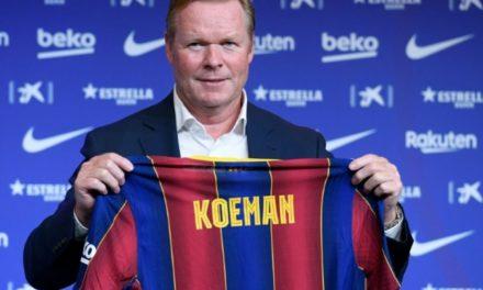 """""""On va lutter pour remettre le Barça au sommet"""", assure Koeman"""