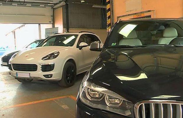 TRAFIC INTERNATIONAL DE VEHICULES  – 9 voitures volées en Europe saisies à Dakar