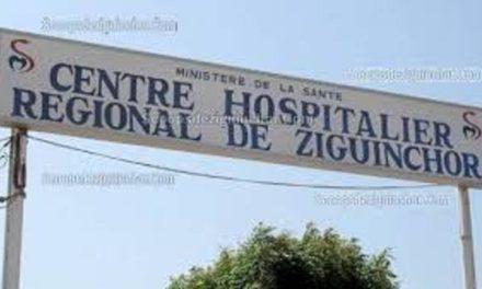 HÔPITAL RÉGIONAL DE ZIGUINCHOR-  Un établissement sanitaire malade
