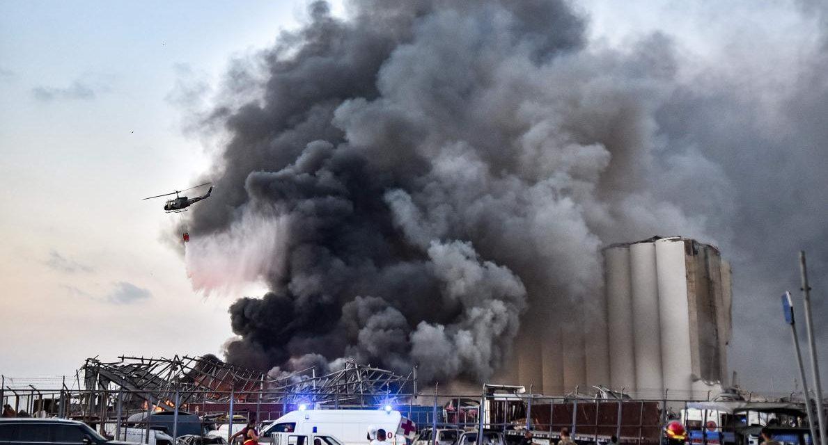 EXPLOSION A BEYROUTH – Au moins 100 morts et 4000 blessés