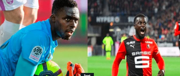 LDC – Rennes de Mbaye Niang et d'Edouard Mendy qualifié directement