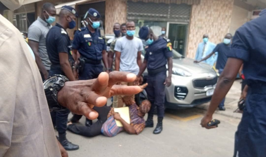 PRÉFECTURE DE DAKAR – Guy Marius Sagna arrêté par la police
