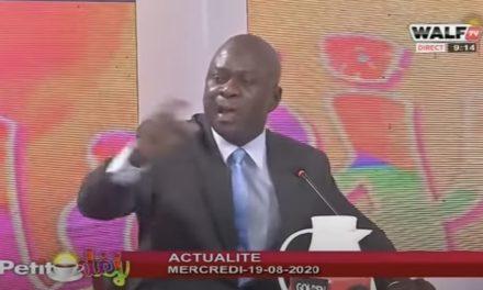 VIDEO – Coup d'État contre IBK : l'Enorme coup de gueule d'Aliou Sow de Walf TV