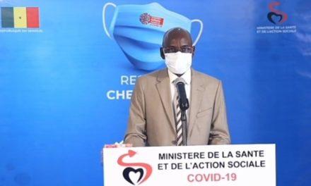 CORONAVIRUS AU SENEGAL – 83 nouveaux cas dont 41 communautaires