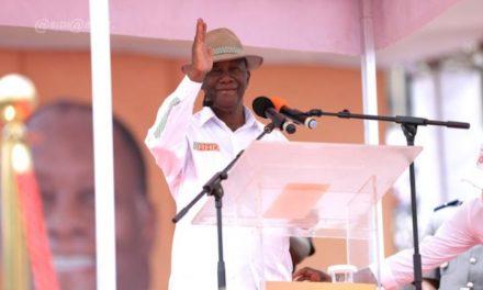 DISCOURS D'INVESTITURE – Ouattara justifie sa candidature et menace