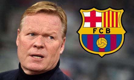 OFFICIEL – Ronald Koeman nouvel entraîneur du Barça!
