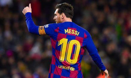 BARÇA Messi, le premier à l'entraînement