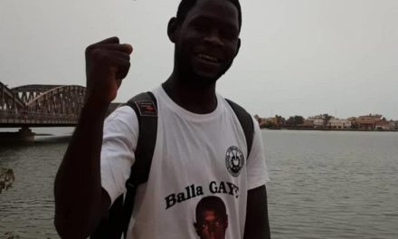 REBELLION- Le procès de l'activiste Pape Abdoulaye Touré encore renvoyé