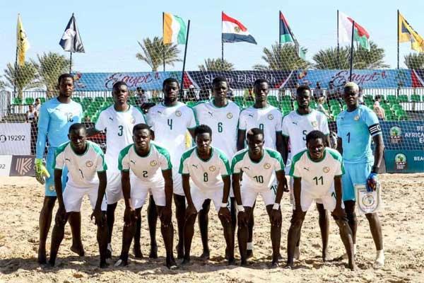 CAN BEACH SOCCER 2020 – Le Sénégal désigné pays hôte