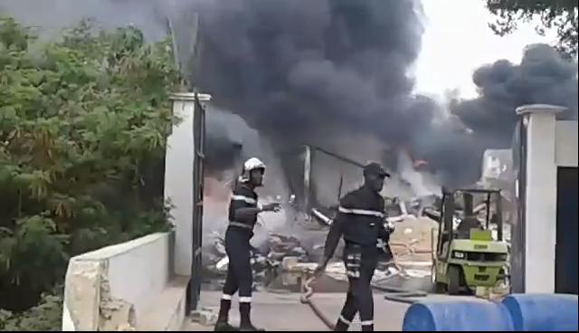 GRAND MBAO – Un blessé dans l'explosion d'une usine de gaz