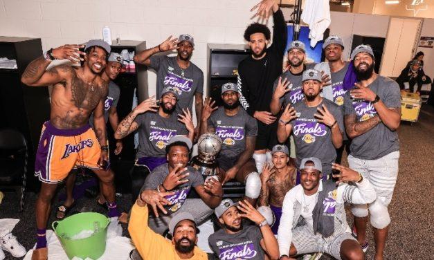 NBA – Les Lakers champions de la Conférence Ouest 10 ans après