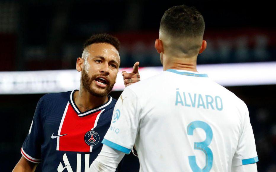 PSG – OM – Neymar accuse Alvaro de racisme