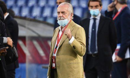 NAPLES – Le président, Aurelio De Laurentiis testé positif au Covid-19