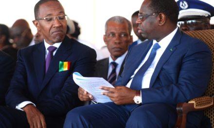 REPONSE AUX INONDATIONS – Abdoul Mbaye presse Macky