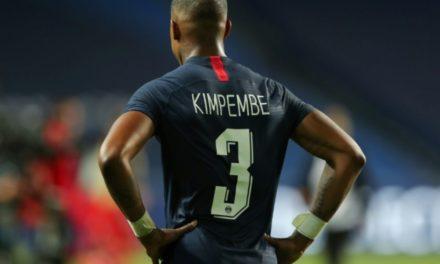 """LIGUE 1 – Kimpembe, le """"titi"""" du PSG prend les commandes"""
